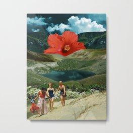 Valley of the flower Metal Print