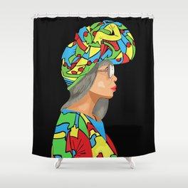 Binti Afrika Shower Curtain