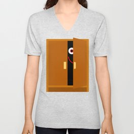 Ghost in the Cupboard Unisex V-Neck