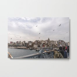 The Bridge to Karaköy Metal Print