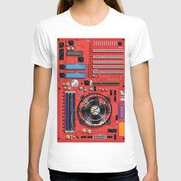 Computer Motherboard Electronics. T-shirt