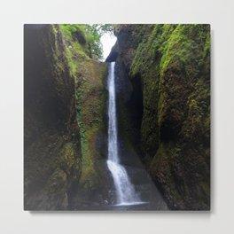 Lower Oneonta Falls, Oneonta Gorge, Oregon Metal Print