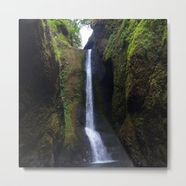Lower Oneonta Falls, Oneonta Gorge, Oregon Metal Print