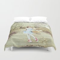 dorothy Duvet Covers featuring Dorothy by Malice of Alice