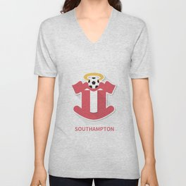 Shouthampton Smooth Logo Unisex V-Neck