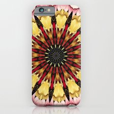 Tribal Spears and Fading Hearts Mandala Slim Case iPhone 6s