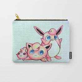 Jiggly, Wiggly, and Iggly Carry-All Pouch