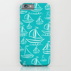 Sail Away Turquoise  Slim Case iPhone 6s