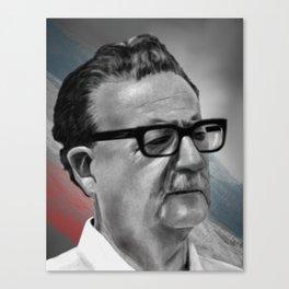 Salvador Allende Canvas Print