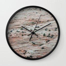 Rock Slide (Zion National Park, Utah) Wall Clock