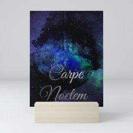 Carpe Noctem (Seize The Night) Mini Art Print