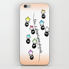 Don't forget your friends iPhone & iPod Skin