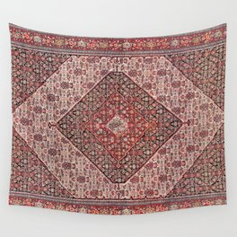 Sehna Antique Kurdish Persian Tribal Rug Wall Tapestry