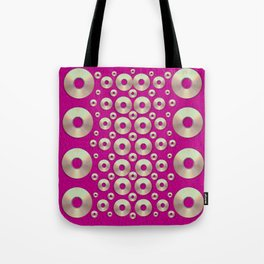 Going gold or metal on fern pop art Tote Bag