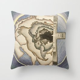 Savior of the World Throw Pillow