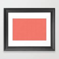 U16 - knit pink Framed Art Print