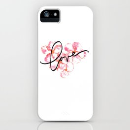 "Plumeria Love - A Romantic way to say, ""I Love You"" iPhone Case"