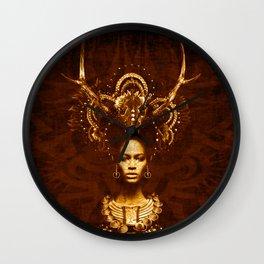 Tribal Fashion Wall Clock
