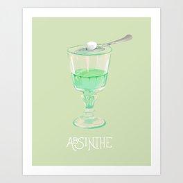 Absinthe Art Print