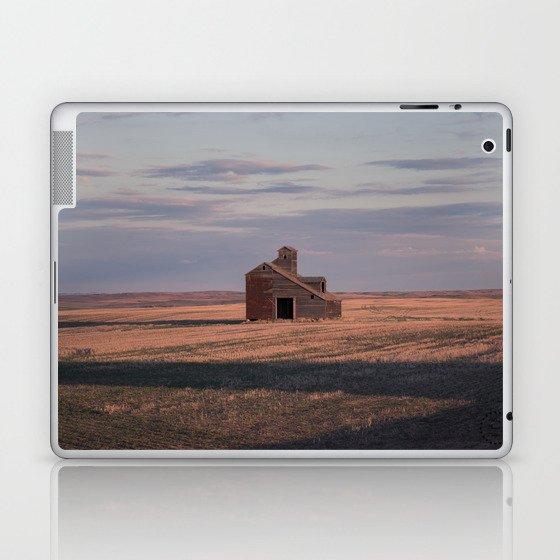 Grain Elevator 19 Laptop & iPad Skin by prairieplacesphotography