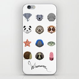 Slow Animals iPhone Skin