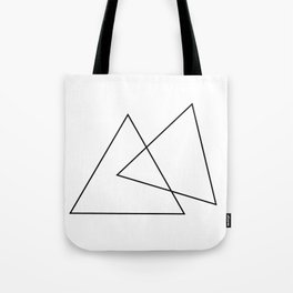 Double Triangles Tote Bag