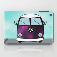 van iPad Cases featuring Hippie Van  by The Bohemian Bubble