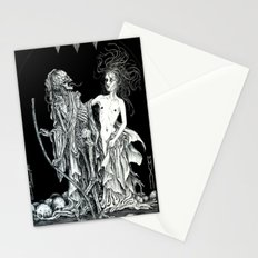 Death and the Maiden I Stationery Cards