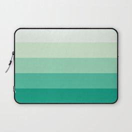 Pastel Green Stripes Laptop Sleeve