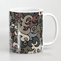 military Mugs featuring Military pattern by Julia Badeeva
