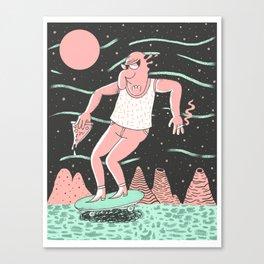 Spaceboard Canvas Print