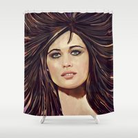 passion Shower Curtains featuring Passion by Balazs Pakozdi