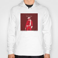 dentist Hoodies featuring No184 My Django Unchained minimal movie poster by Chungkong