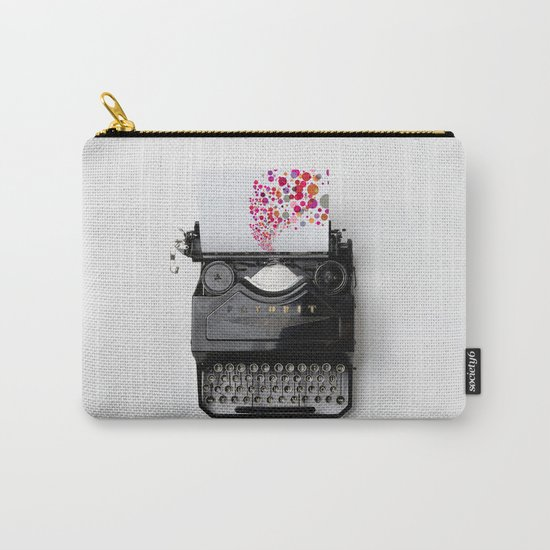 Typing Joy Carry-All Pouch