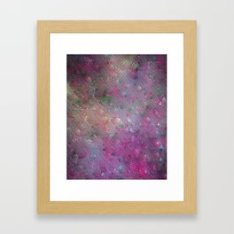 Vortex Footprints Framed Art Print