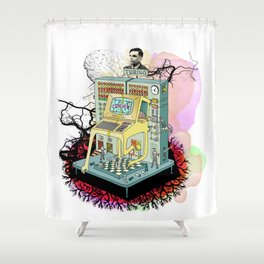 Turing Shower Curtain