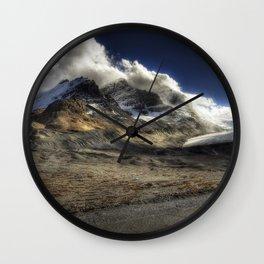 Glacier Expressif Wall Clock