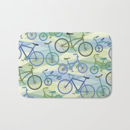 Bicycles Bath Mat