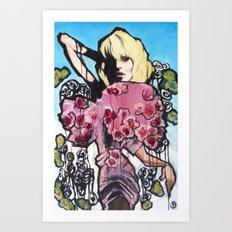 Love Less Art Print