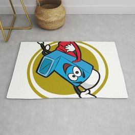 YOU TAKE MY BREATH AWAY Asthma Inhalor Gift Kids Rug
