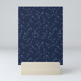 Constellations In The Night Mini Art Print