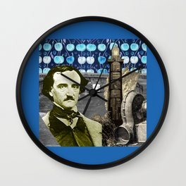 Tower of Nevermore Wall Clock