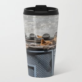 A Bunch of Cats Metal Travel Mug