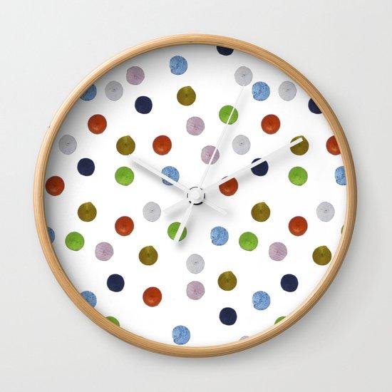 Pinpoint Dots Wall Clock