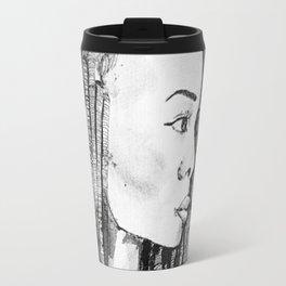 Femme aux dreads Travel Mug