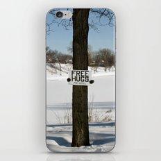 Free Hugs Tree iPhone & iPod Skin