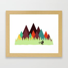 MTB Framed Art Print