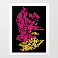 Phoniex Rising Art Print