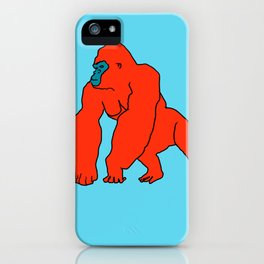 The Orange Gorilla iPhone Case