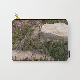 Rocks and Bugle Carry-All Pouch